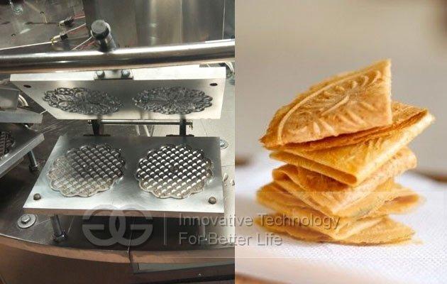 Kuih Kapit cookie baking machine