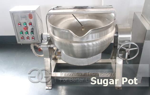 sugar cooking pot