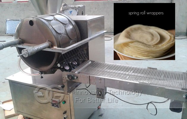 spring roll wrapper making machine