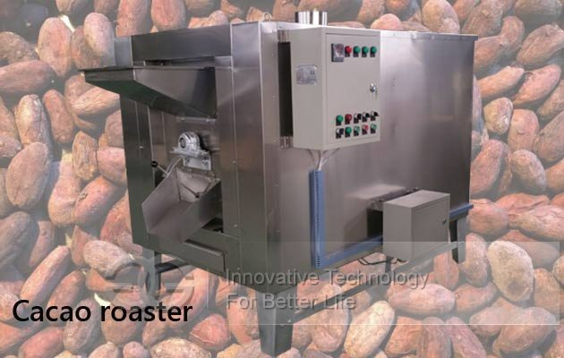 cacao roaster machine