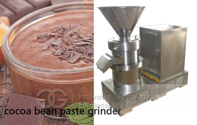 cocoa bean paste grinder