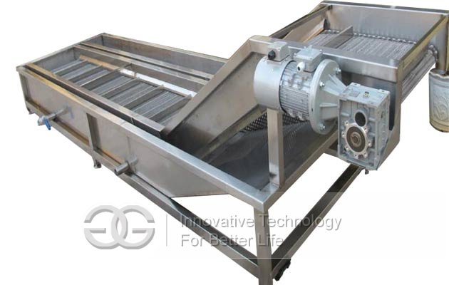 automatic fish ice glazing machine