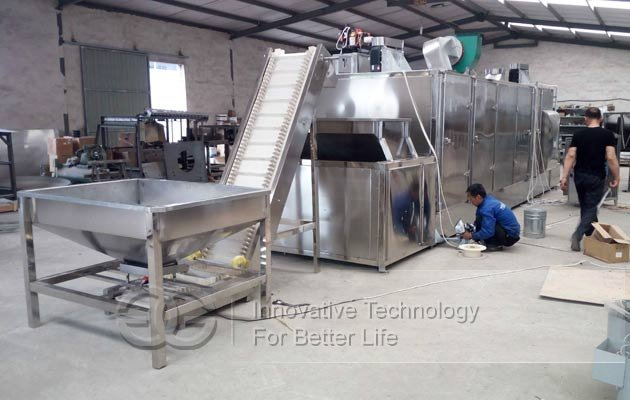 commercial nuts beans roaster