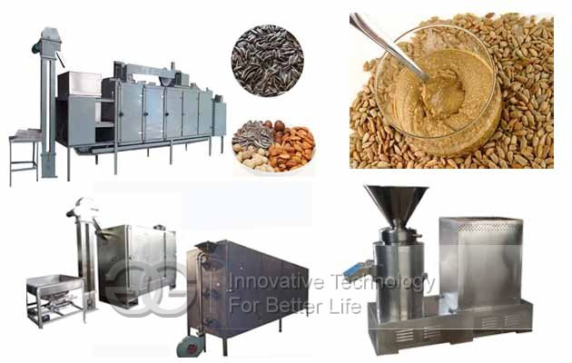 sunflower butter processing equipment
