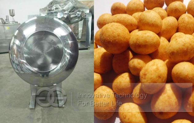 coated peanut making machine