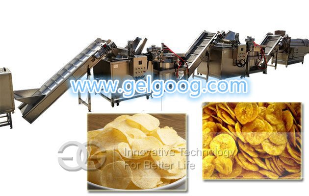 full automatic banana chips making machine