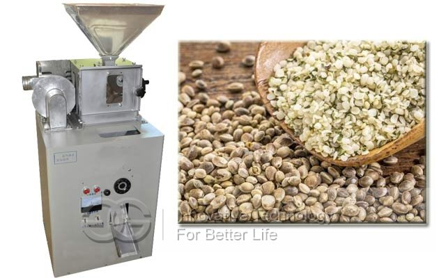 hemp seed shelling machine