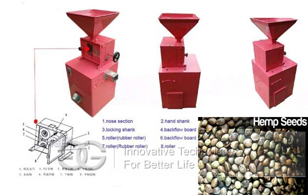 Spelt Dehullier Hemp Seed Shelling Machine|Cannabis Seeds