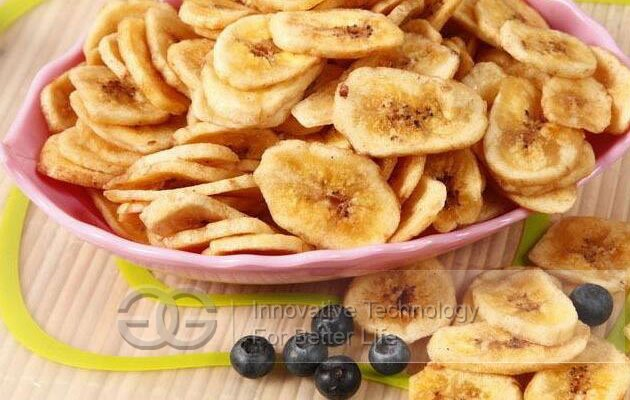 automatic banana chips making machine