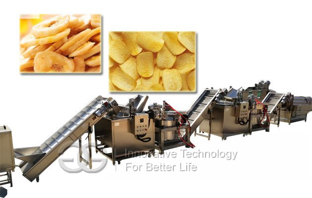 banana chips manufacturing equipment