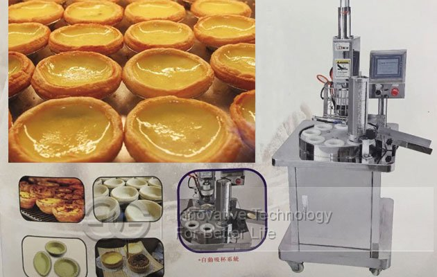 egg tart shell forming machine