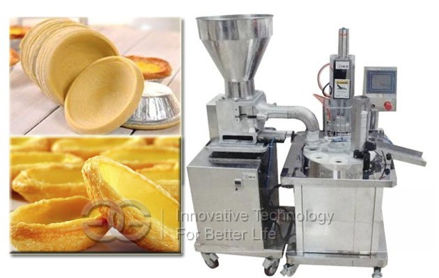 egg tart skin pressing machine