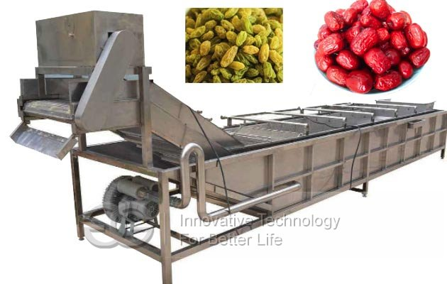 commercial date cleaning machine line