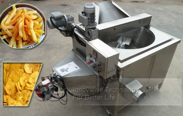 commercial chips fryer machine