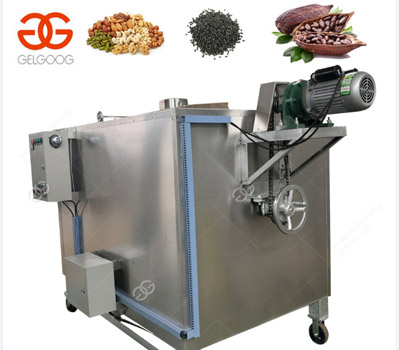 industrial nut roaster machines