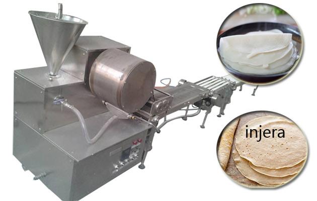 ethiopian injera manufacturing machine