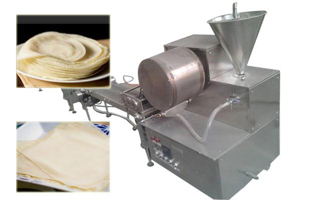 samosa pastry sheet machine
