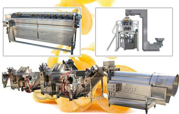 potato chips machine for sale