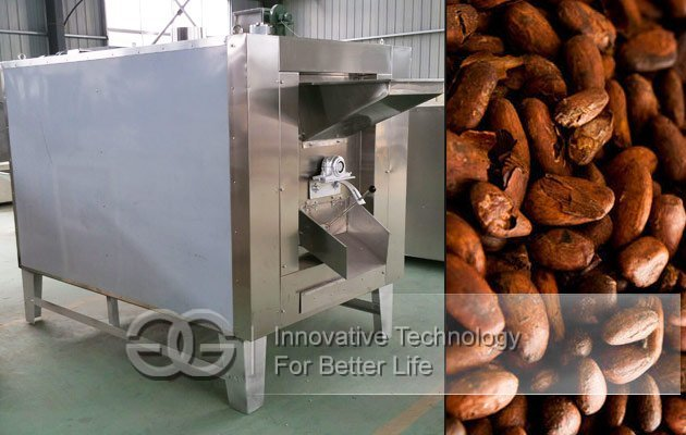 cocoa bean roaster machine