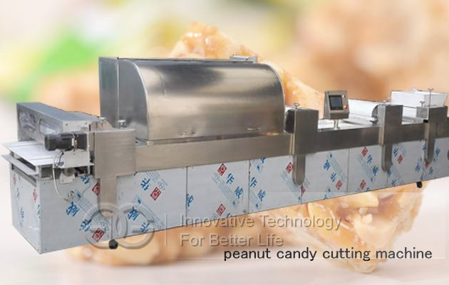 peanut candy forming cutting machine