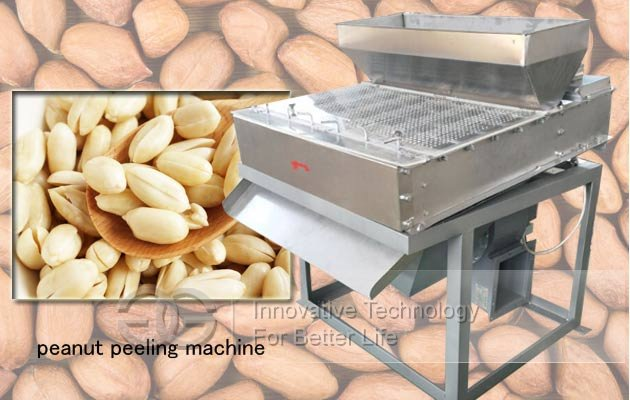 peanut peeler machine