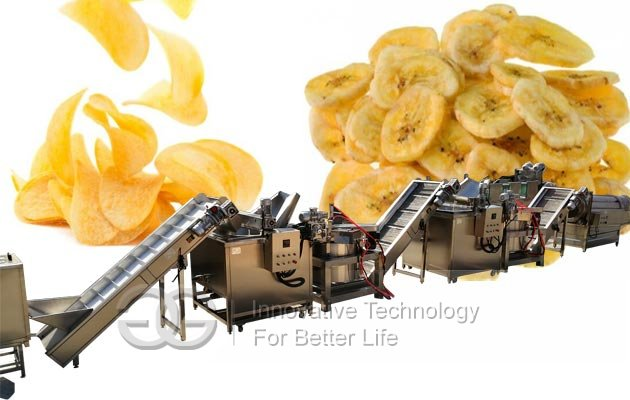 potato plantain chips machine