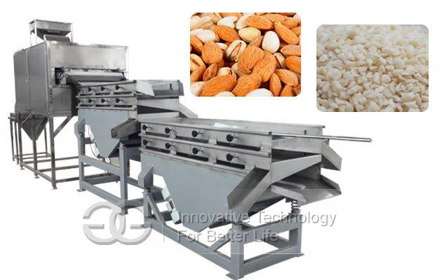 peanut almond cutting machine
