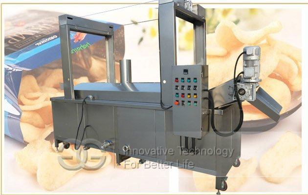 commercial snacks fryer machine