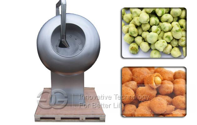 peanuts coating machine
