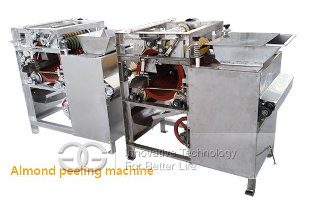 almond nuts peeling machine