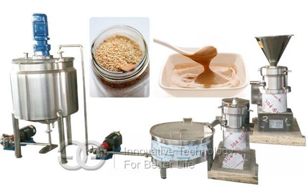 sesame butter processing line