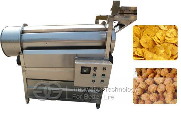 potato chips flavoring machine for sale