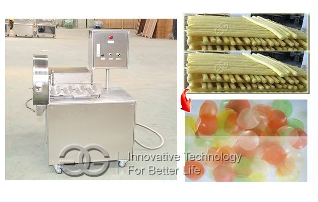 prawn crackers cutter machine