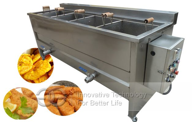 potato chips deep fryer machine