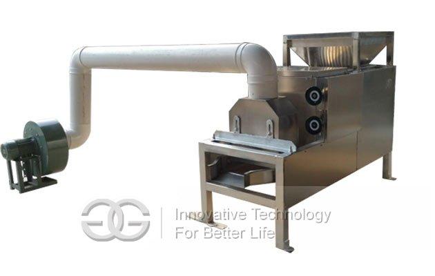 cocoa bean peeling crushing machine