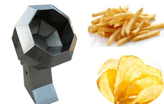 fries flavoring machine