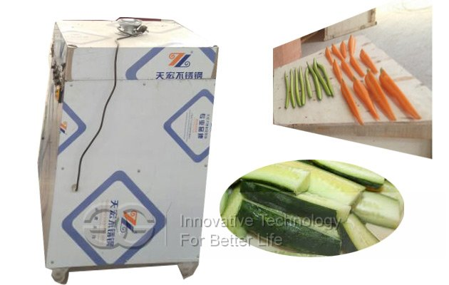 cucumber wedge cutter machine