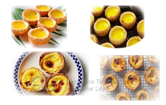 semi-automatic egg tart machine
