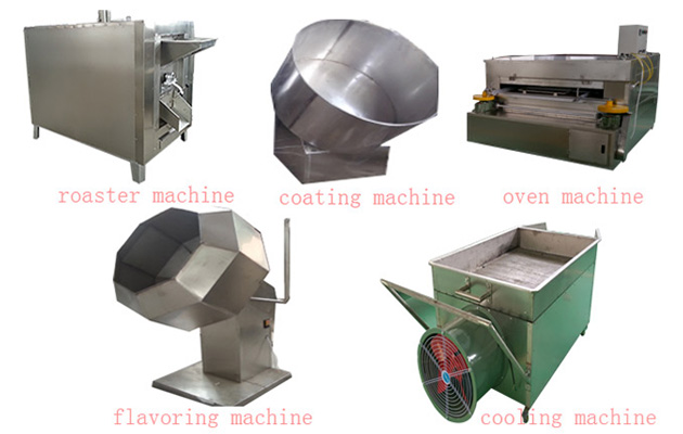 cocoa beans making machine line