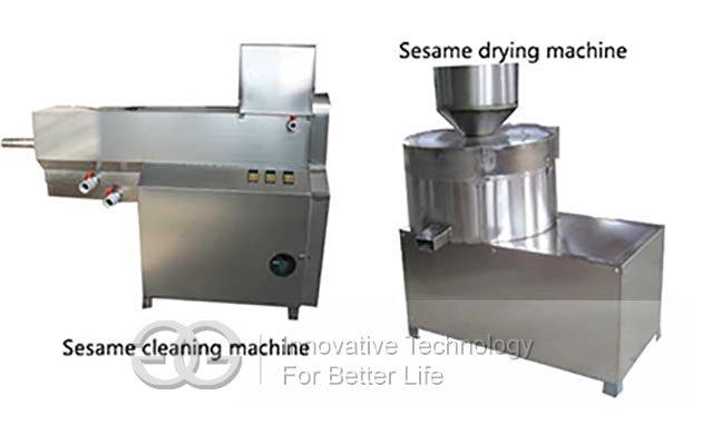 sesame cleaning machine