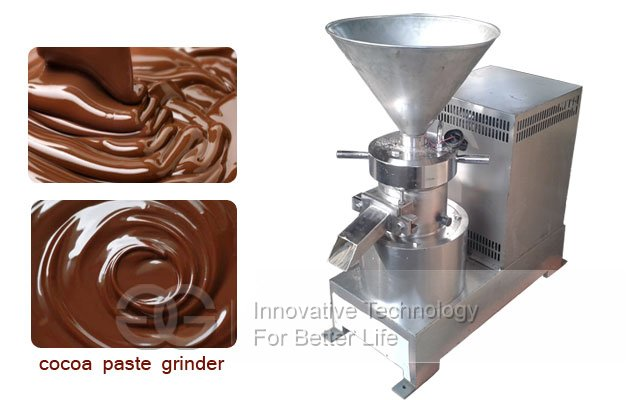 cocoa beans paste grinder