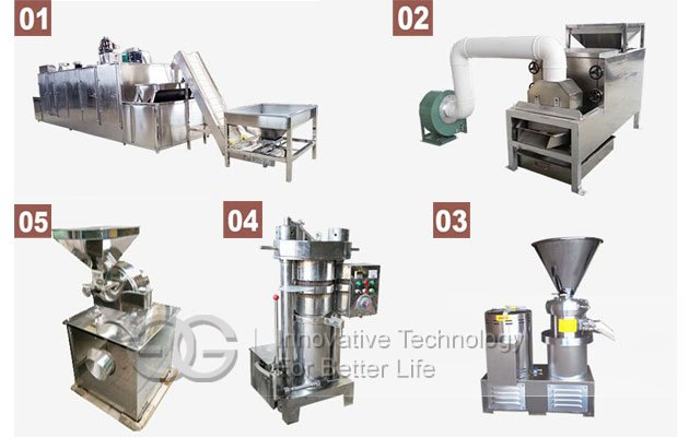cocoa powder processing line