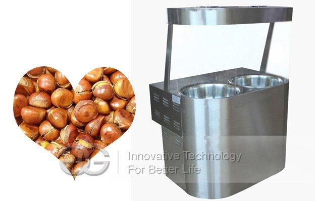 chestnut fryer machine
