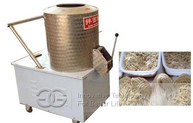 automatic noodles mixer machine