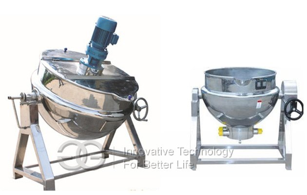 jacketed pan machine