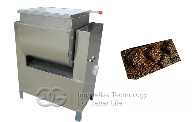 non-stick sugar and peanut mixer machine