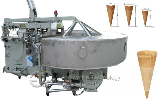commercial sugar cone machine