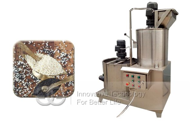 sesame seeds peeler machine