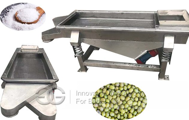 bean linear screen machine