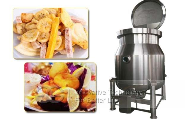 commercial nuts vacuum fryer